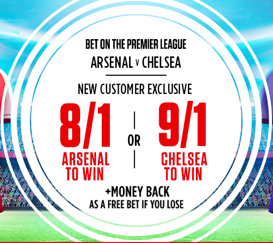 Arsenal vs Chelsea Betting Tips