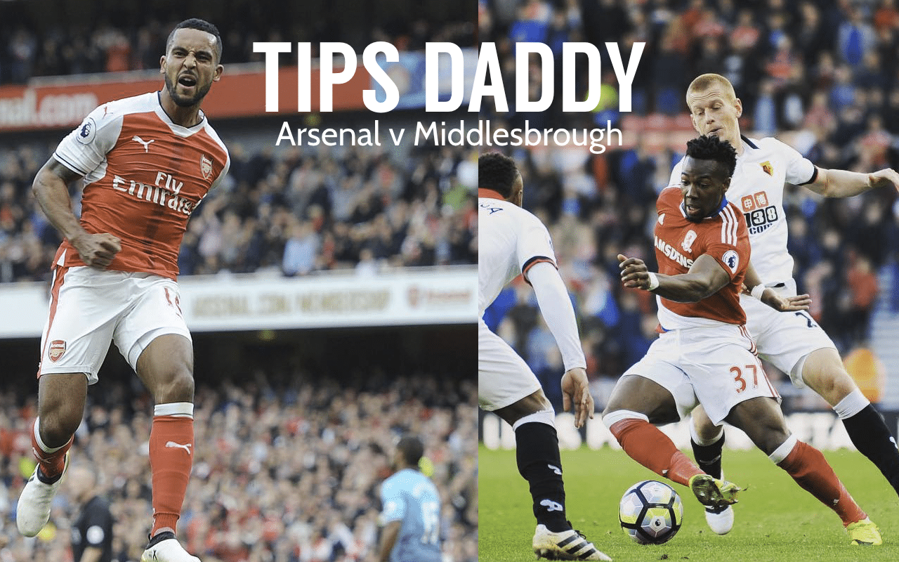 Arsenal vs Middlesbrough Tips