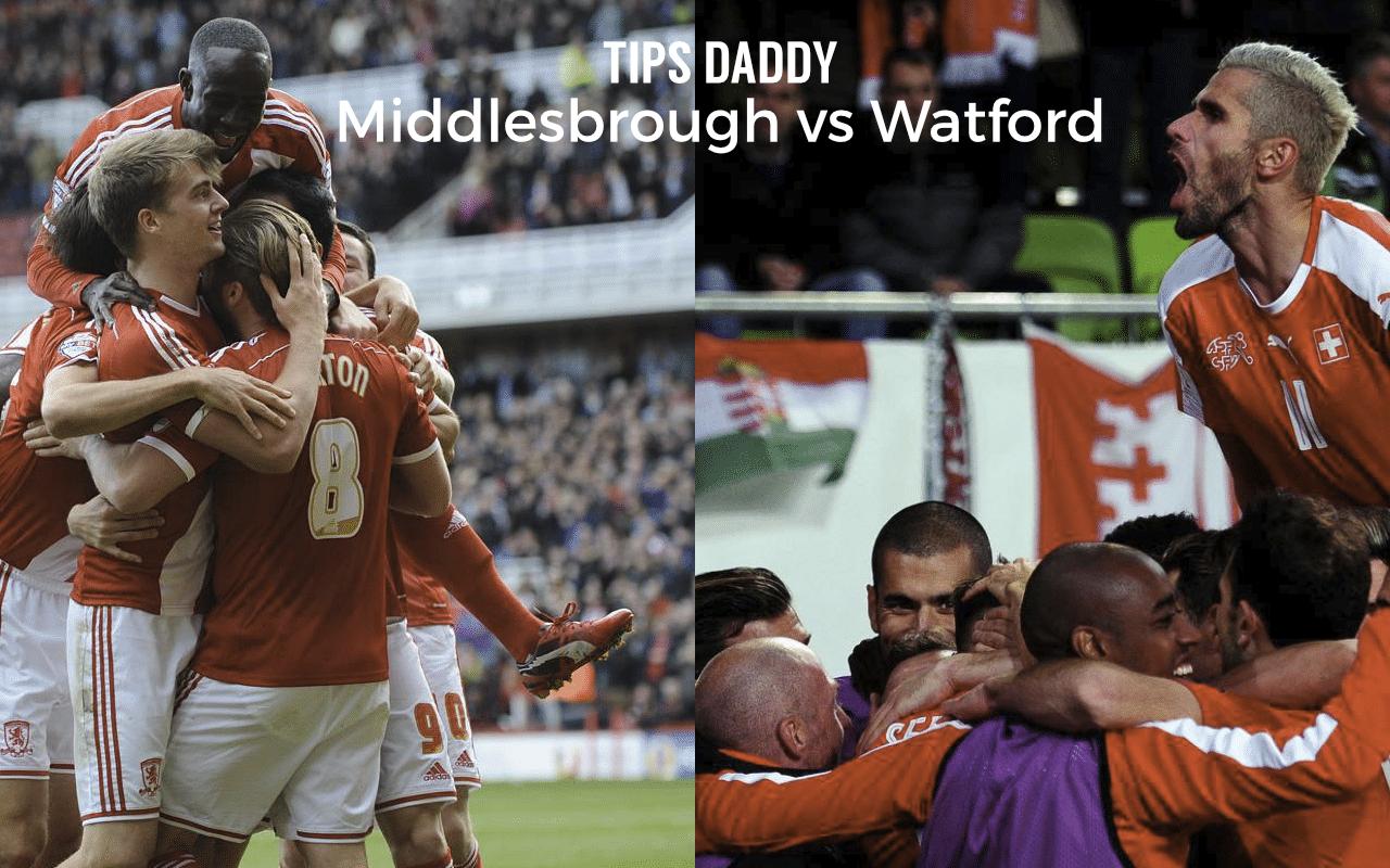 Middlesbrough vs Watford Tips