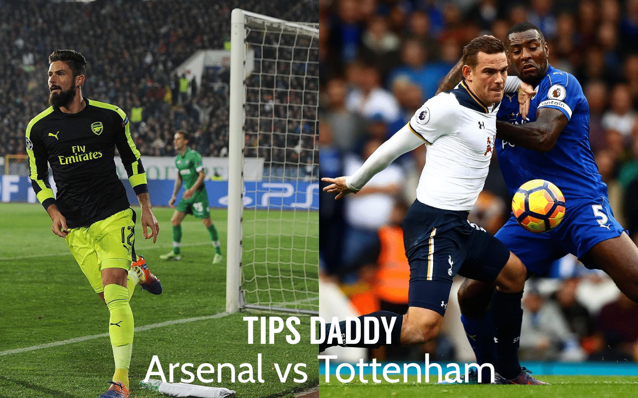 Arsenal vs Tottenham Betting Tips
